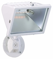 Nuvo 76514 Exterior Flood Light Large 10 Inch Tall White Finish Outdoor Flood Light