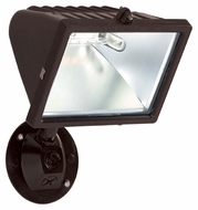 Nuvo 76515 Exterior Flood Light Bronze Finish 10 Inch Tall Outdoor Security Flood Lighting - Halogen