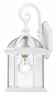 Nuvo 604964 Boxwood Medium 19 Inch Tall White Exterior Wall Lamp
