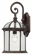 Nuvo 604965 Boxwood Medium Traditional 19 Inch Tall Rustic Bronze Exterior Sconce