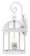Nuvo 604967 Boxwood 26 Inch Tall White Finish Outdoor Wall Light - Large