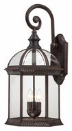 Nuvo 604968 Boxwood Traditional Style 26 Inch Tall Rustic Bronze Exterior Wall Sconce - Large