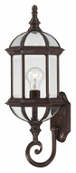 Nuvo 604972 Boxwood Lower Mounting 22 Inch Tall Traditional Rustic Bronze Exterior Sconce
