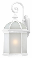 Nuvo 604981 Boxwood Small Fluorescent 15 Inch Tall Frosted Beveled Glass Wall Lighting