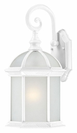 Nuvo 604984 Boxwood Traditional 19 Inch Tall Frosted Glass White Lamp Sconce - Fluorescent