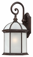 Nuvo 604985 Boxwood 19 Inch Tall Medium Rustic Bronze Traditional Exterior Wall Lamp - Fluorescent