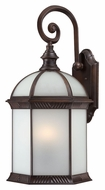 Nuvo 604988 Boxwood Fluorescent Large Rustic Bronze Traditional Outdoor Sconce