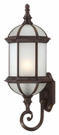 Nuvo 604992 Boxwood Traditional Rustic Bronze Finish 22 Inch Tall Exterior Sconce - Lower Mounting