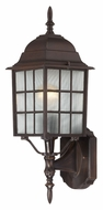 Nuvo 604902 Adams Lower Mounting Rustic Bronze 18 Inch Tall Outdoor Sconce