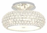 Access 51003-CH/CCL Kristal�Chrome Finish Crystal 20 Inch Diameter Large Semi Flush Overhead Lighting