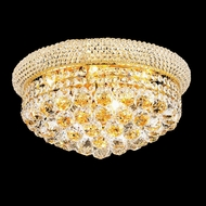 Elegant 1800F16G-RC Primo 8-light 16  Crystal Gold Ceiling Lighting Fixture