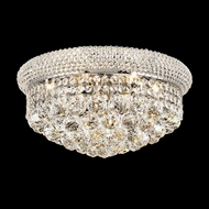 Elegant 1800F16C-RC Primo Chrome 16  Crystal Flush Mount Ceiling Light