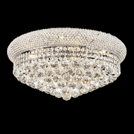 Elegant 1800F20C-RC Primo 10-light 20  Chrome Flush Lighting