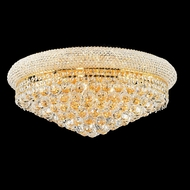 Elegant 1800F24G-RC Primo Gold 24  12-lamp Ceiling Lighting Fixture