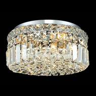 Elegant 2030F12C-RC Maxim Mini Crystal Flush Mount Lighting Fixture