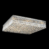Elegant 2032F24C-RC Maxim 13-light Extra Large 24  Crystal Flush Mount Lighting Fixture