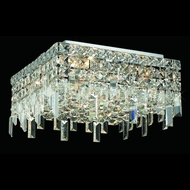 Elegant 2033F12C-RC Maxim Mini 12  4-light Crystal Ceiling Lighting