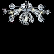 Elegant 3400F20C-EC Cyclone Contemporary Crystal Ceiling Light