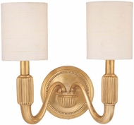 Hudson Valley 402 Tuilerie 2 Light Wall Sconce