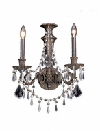 Crystorama 5162 Regis 2-lite wall sconce in English Bronze