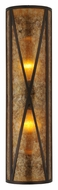 Meyda Tiffany 106559 Amber Mica Diamond Mission 8 Lamp Wall Sconce Light - 30 Inches Tall