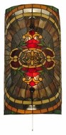 Meyda Tiffany 133234 Regal Splendor 20 Inch Tall Tiffany Lamp Sconce