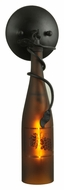 Meyda Tiffany 81816 Tuscan Vineyard 16 Inch Tall Wine Bottle Lighting Sconce