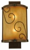 Meyda Tiffany 125509 Sorbonn 16 Inch Tall Wall Mounted Lighting Sconce