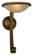 Meyda Tiffany 129552 Calice 16 Inch Tall Transitional Sconce Lighting
