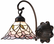 Meyda Tiffany 18724 Daffodil Bell 1 Light Wall Sconce Lighting Fixture