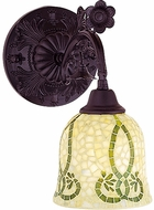 Meyda Tiffany 27384 Seed Mosaic Reversible Tiffany Wall Sconce Lighting Fixture