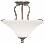Quoizel SPH1716PN Sophia Large Semi Flush Mount Classic Overhead Lighting Fixture