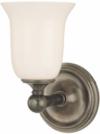 Hudson Valley 5721 Hancock 1 Light Wall Sconce with Glass Shade
