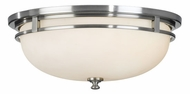 Feiss FM303-BS Kellenberg Modern Flush-Mount Ceiling Fixture
