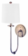 Hudson Valley 511-HN Jericho 20 Inch Tall Transitional Historic Nickel Finish Wall Light Sconce