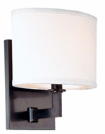 Hudson Valley 591 Grayson Transitional 7 Inch Wide Wall Light Sconce - Bronze Or Nickel