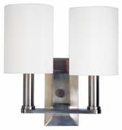 Hudson Valley 8312 Morley 2 Lamp 9 Inch Wide Transitional Wall Sconce Light