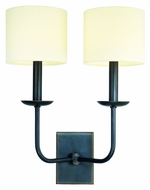 Hudson Valley 1712 Kings Point Transitional 2 Lamp 19 Inch Tall Wall Light Fixture