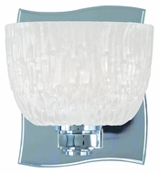 Hudson Valley 2661 Cove Neck Chrome Or Nickel 5 Inch Tall Transitional Wall Sconce Light