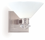 Hudson Valley 3251 Rawlins 7 Inch Wide Xenon Wall Sconce Light Fixture - Nickel