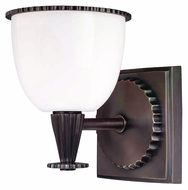 Hudson Valley 3881-AN Guilford 6 Inch Tall Transitional Wall Light Sconce With Multiple Finishes