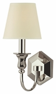 Hudson Valley 1411 Charlotte 14 Inch Tall 1 Lamp Wall Sconce With Eco-Paper Shade