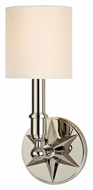 Hudson Valley 4081 Bethesda Star Backplate 14 Inch Tall Wall Light Fixture