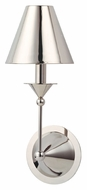 Hudson Valley 510 Tivoli 15 Inch Tall Metal Shade Transitional Lighting Sconce With Finish Options