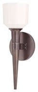 Hudson Valley 530 Holbrook Xenon Transitional 13 Inch Tall Torch Sconce