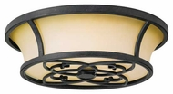 Feiss FM276AF King's Table Flush Mount Ceiling Light