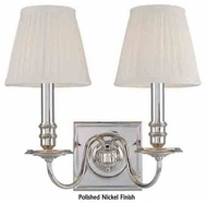 Hudson Valley 202 Sheldrake 2-light Wall Sconce