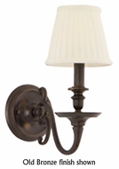 Hudson Valley 1741 Charleston 1-Lamp Wall Sconce