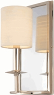 Hudson Valley 81 Winthrop 1 Light Wall Sconce with Mirrored Backplate