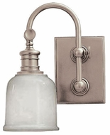 Hudson Valley 1971 Keswick Satin Nickel Wall Sconce